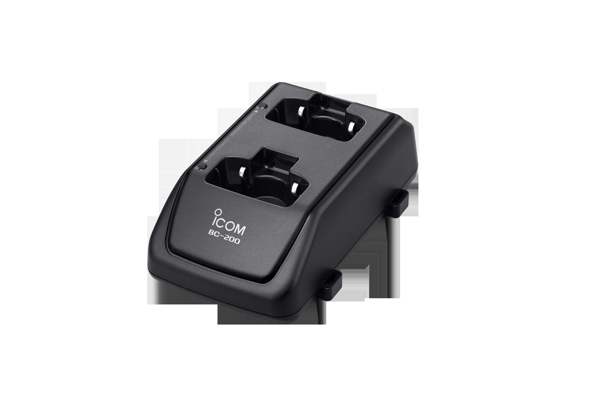2口充電器(5台まで連結可能、BC-186が必要)