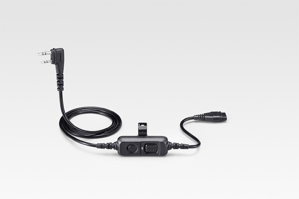 通話スイッチ内蔵型接続ケーブル(電子ロック式)
