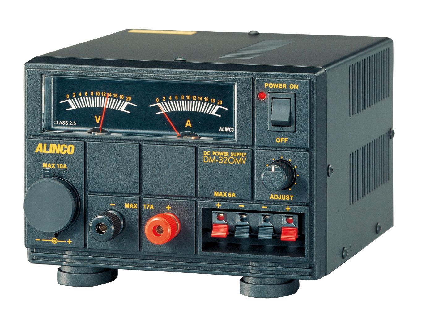 無線機器用安定化電源器(最大17A)