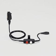 ロック式通話スイッチ内蔵型接続ケーブル