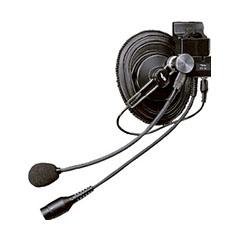 工事ヘルメット用ヘッドセット