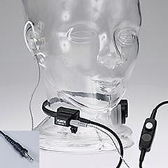 咽喉イヤホンマイク(ねじ込みプラグ)